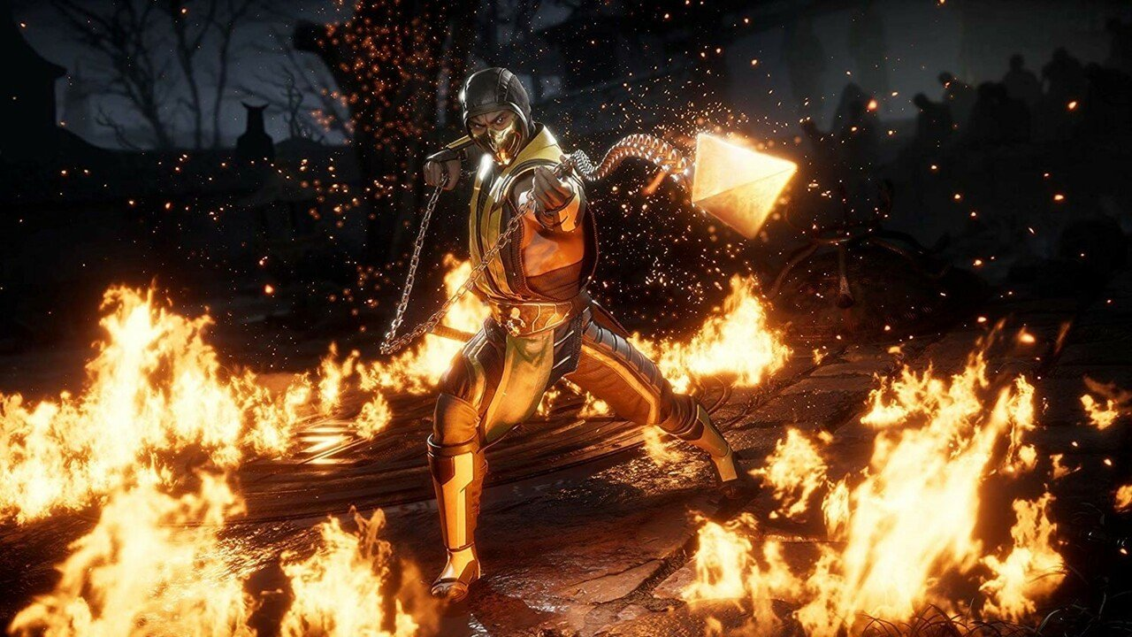 mortal kombat xl scorpion stage fatality