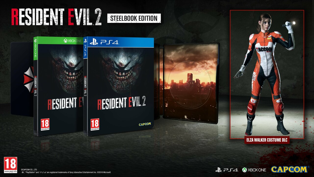 Steelbook Edition Of Resident Evil 2 Remake Creeping To Europe