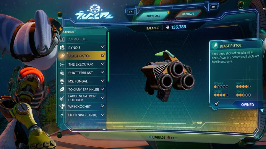 Ratchet & Clank: Rift Apart: All Weapons