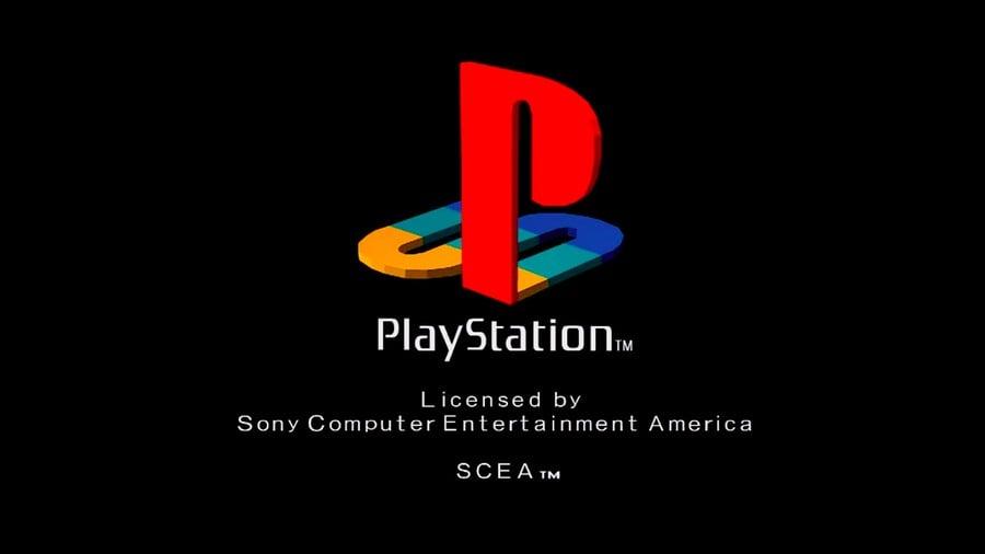 PlayStation PS1 Logo Boot Up Screen