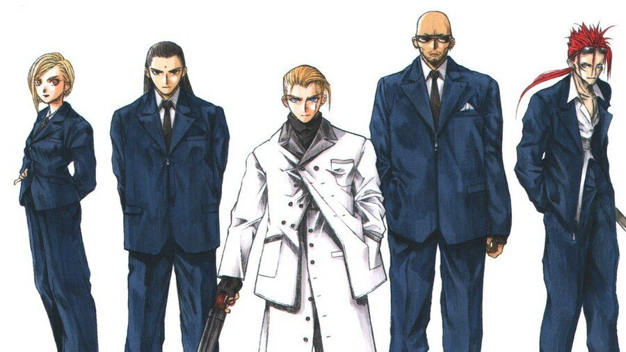 Final Fantasy Vii Remake Shinra Turks Rufus