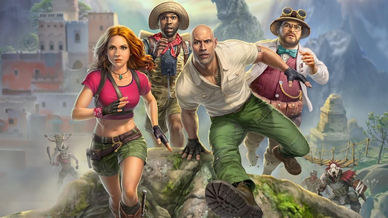 JUMANJI Tie-In Getting PS5 Exclusive Re-Release