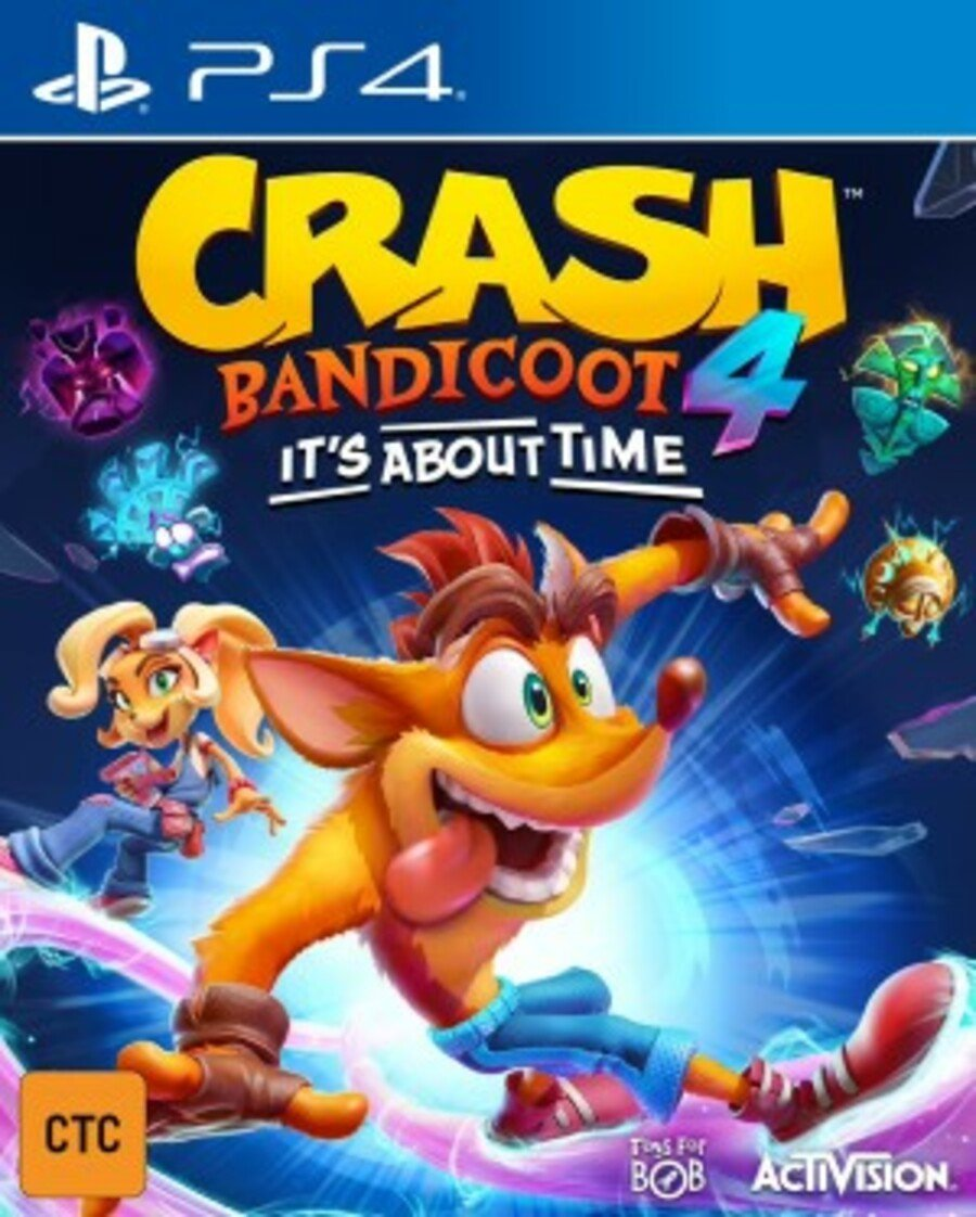 Crash Bandicoot 4: It's About Time PS4 PlayStation 4