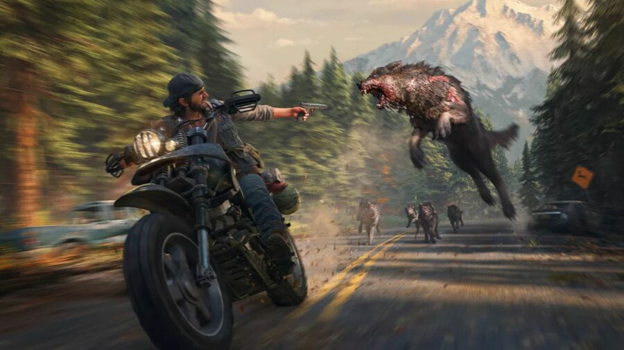 Days Gone PS4 PlayStation 4 Golden Joystick Awards 2019