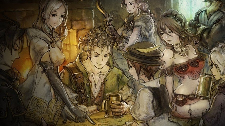 Octopath Traveler PS4 PlayStation 4 PS5
