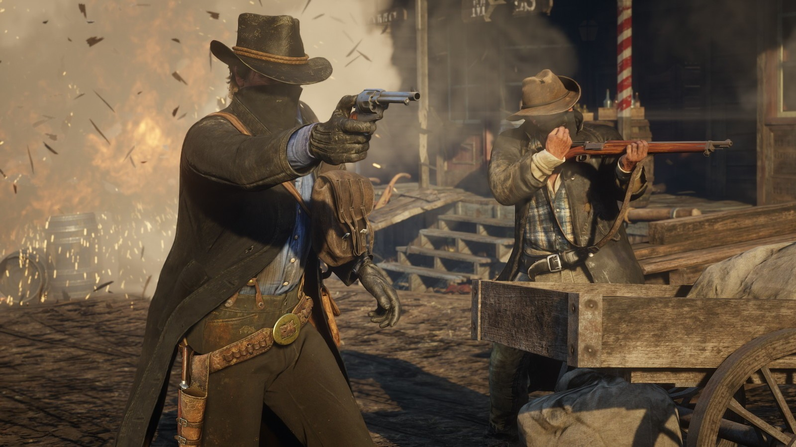Red Dead Redemption 2 Updated with Patch 1 04, Squashes a