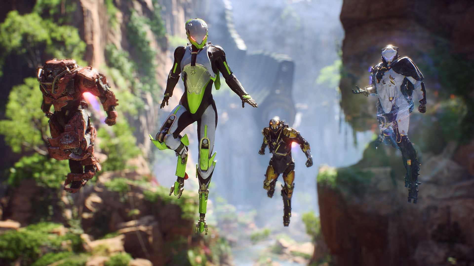 Anthem free-to-play model was considered early into development