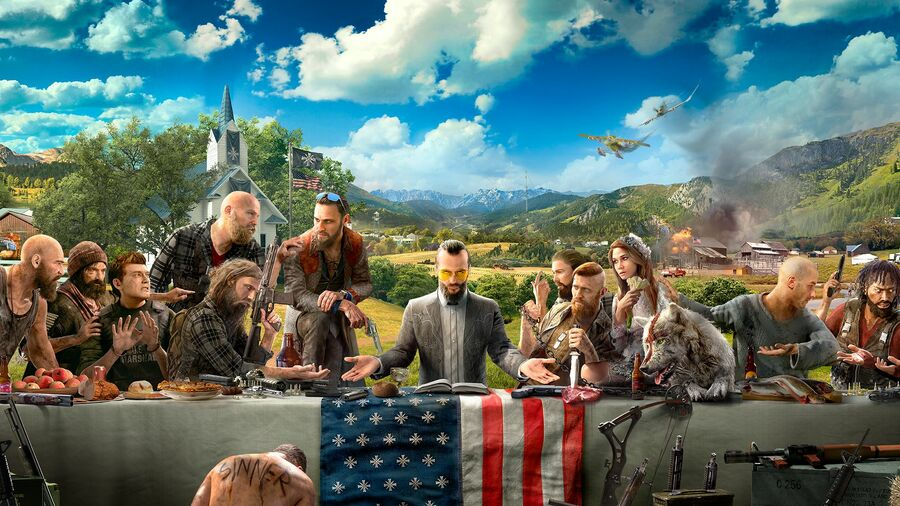 Far Cry 5 PS4 PlayStation 4