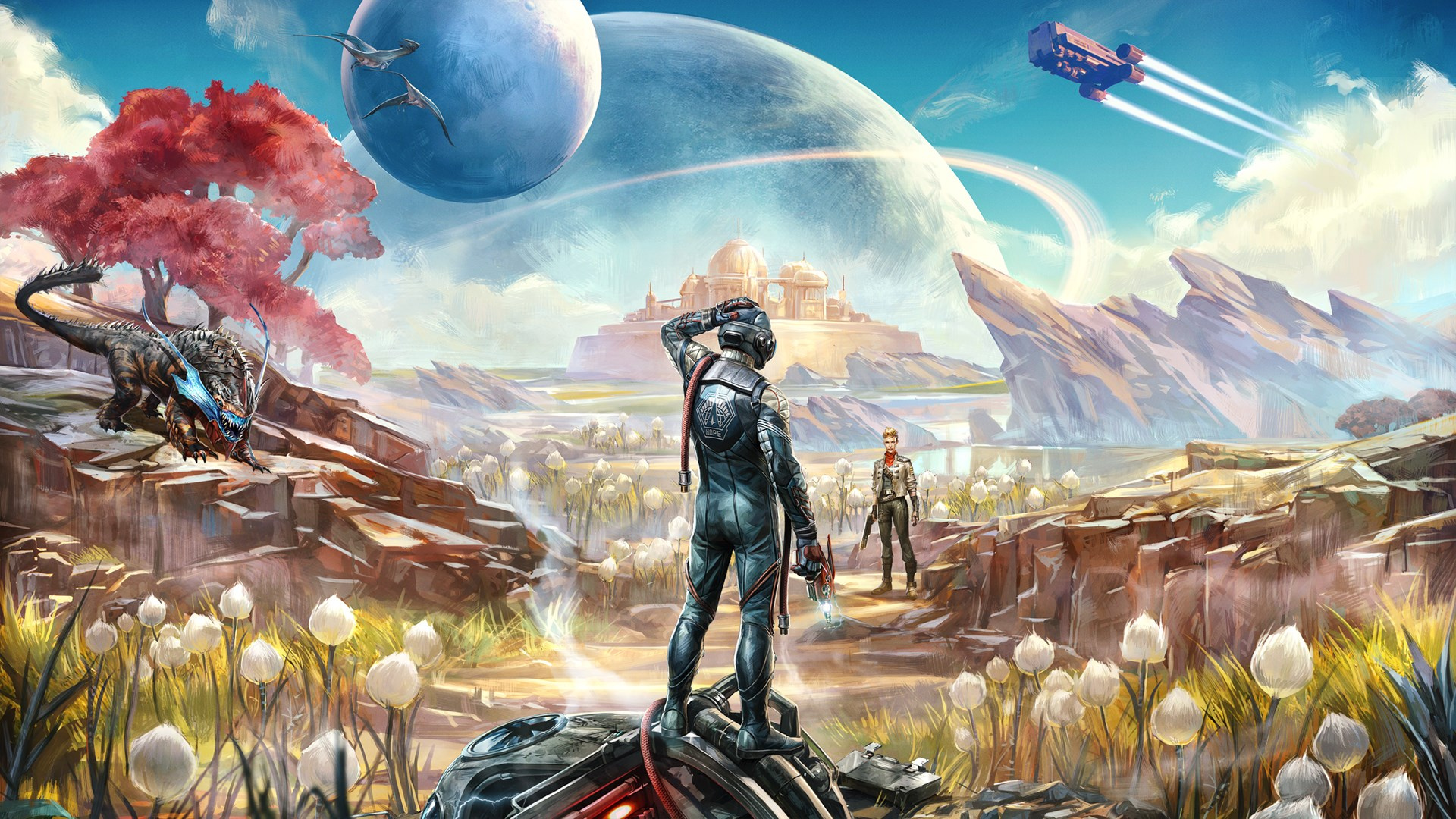 The Outer Worlds Is Purportedly Not Enhanced on PS4 Pro, Runs at 4K on Xbox One X