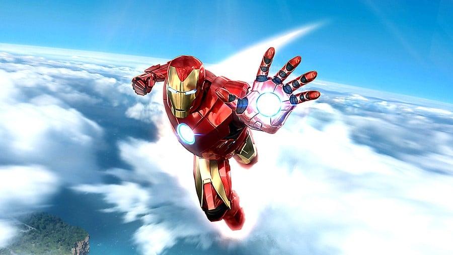 Iron Man VR PS4 PlayStation 4 PSVR de Marvel