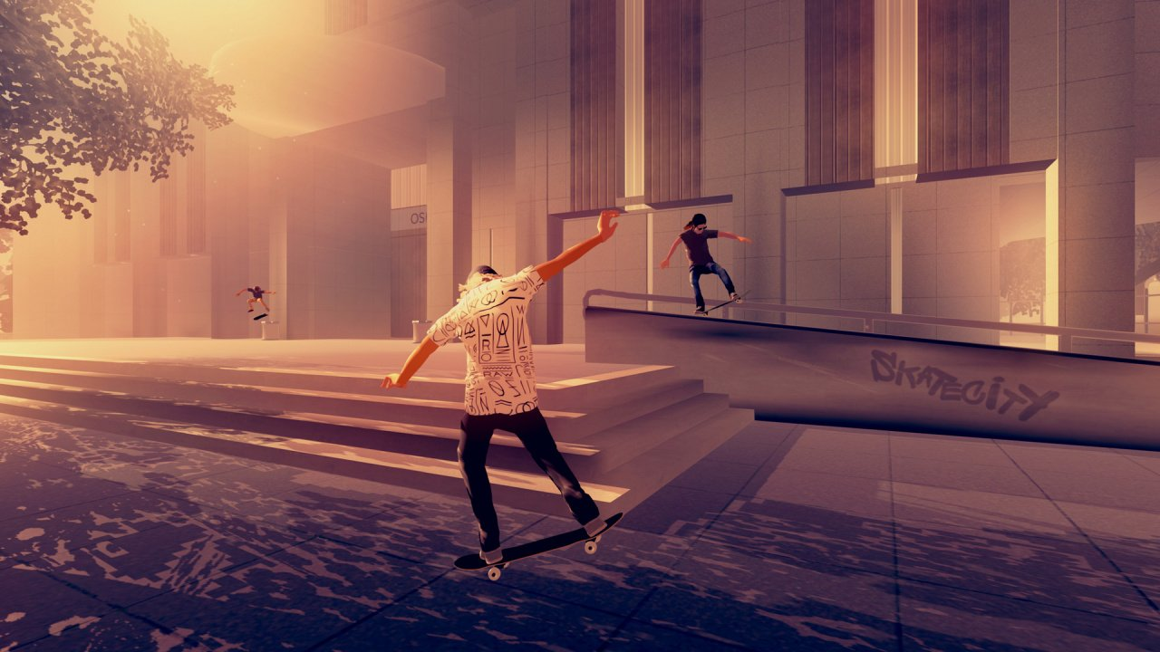 Skate City Brings Its Chill Skateboarding Action to PS4 on 6th May
