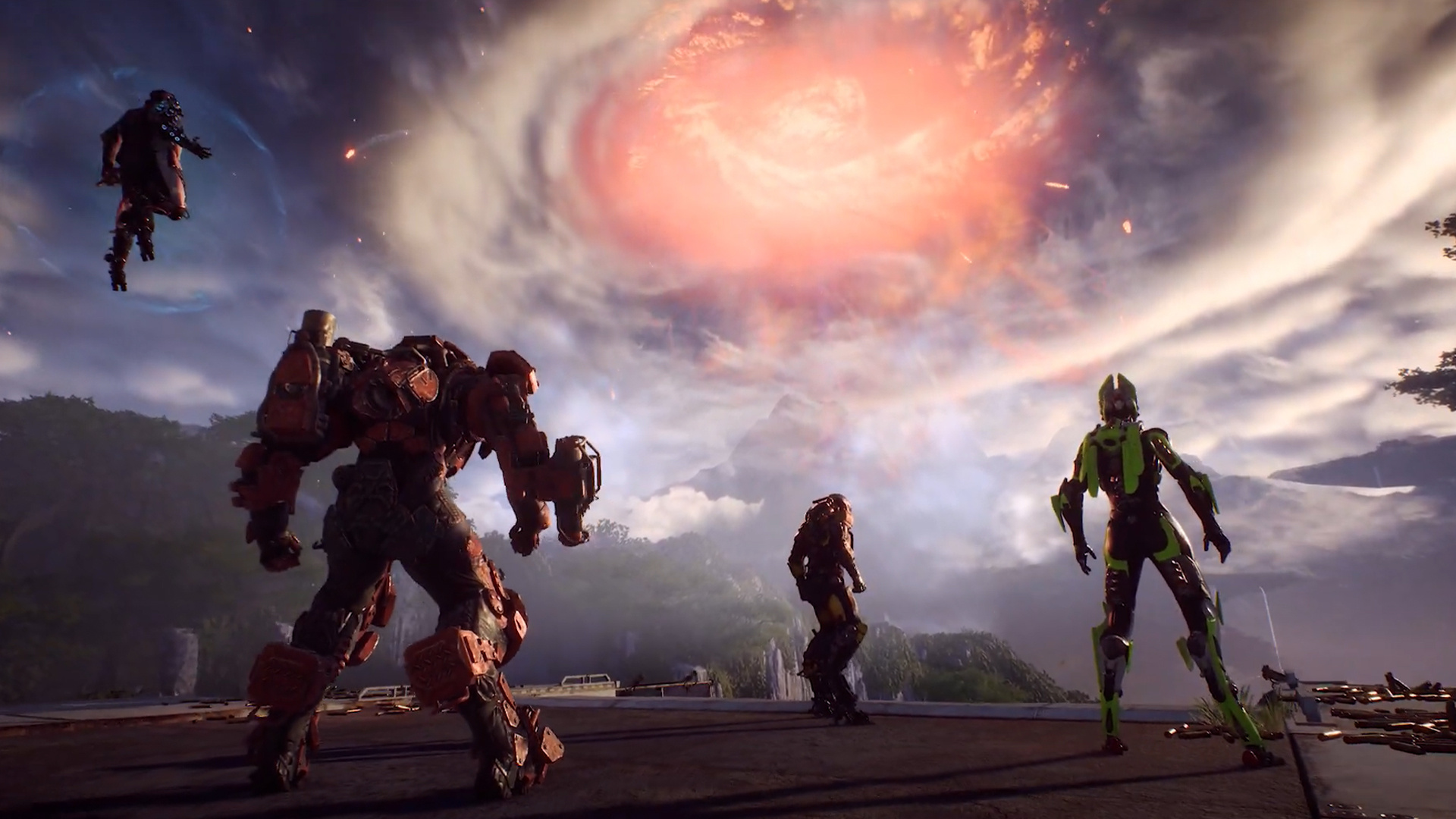 After a Long Delay, Anthem's Cataclysm Event is Finally Live