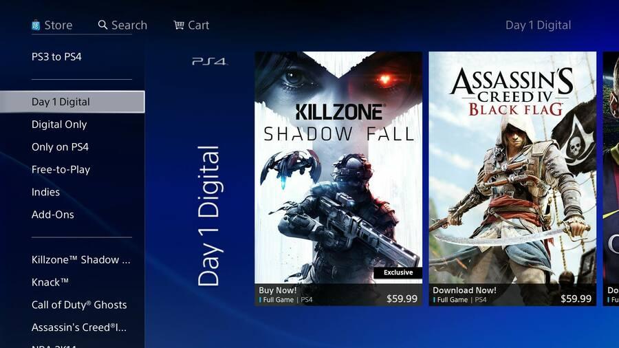 PlayStation Store PS4 PlayStation 4 1