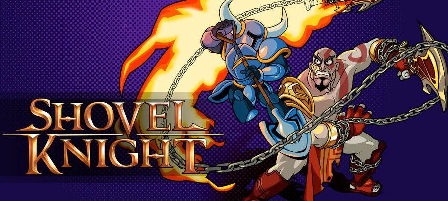 Shovel Knight PS4 Playstation 4 Art