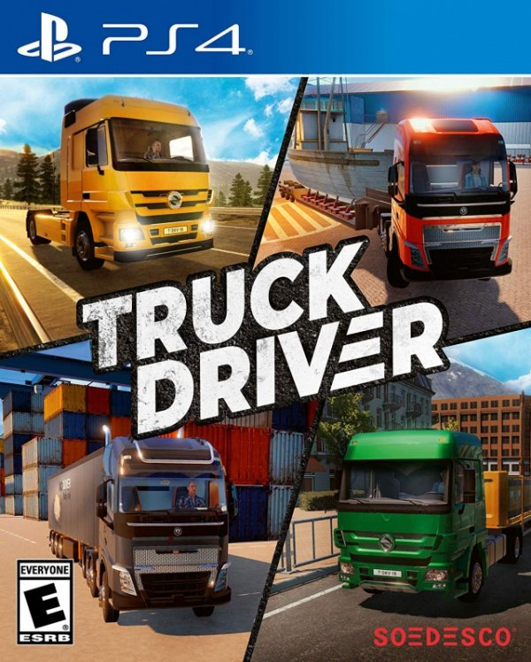 Truck Driver PS4 PlayStation 4 Game Profile News