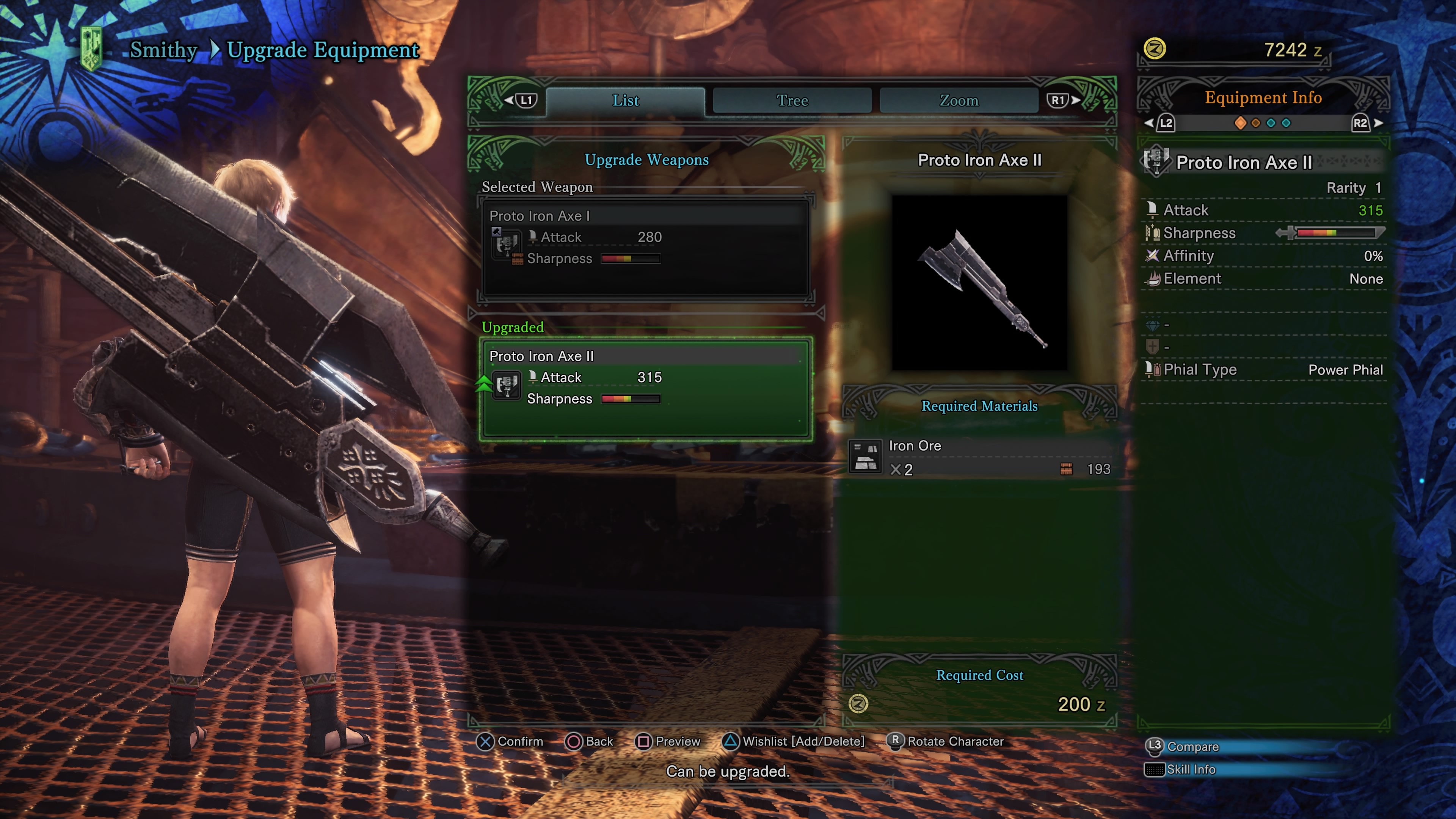 Jagras Switch Axe