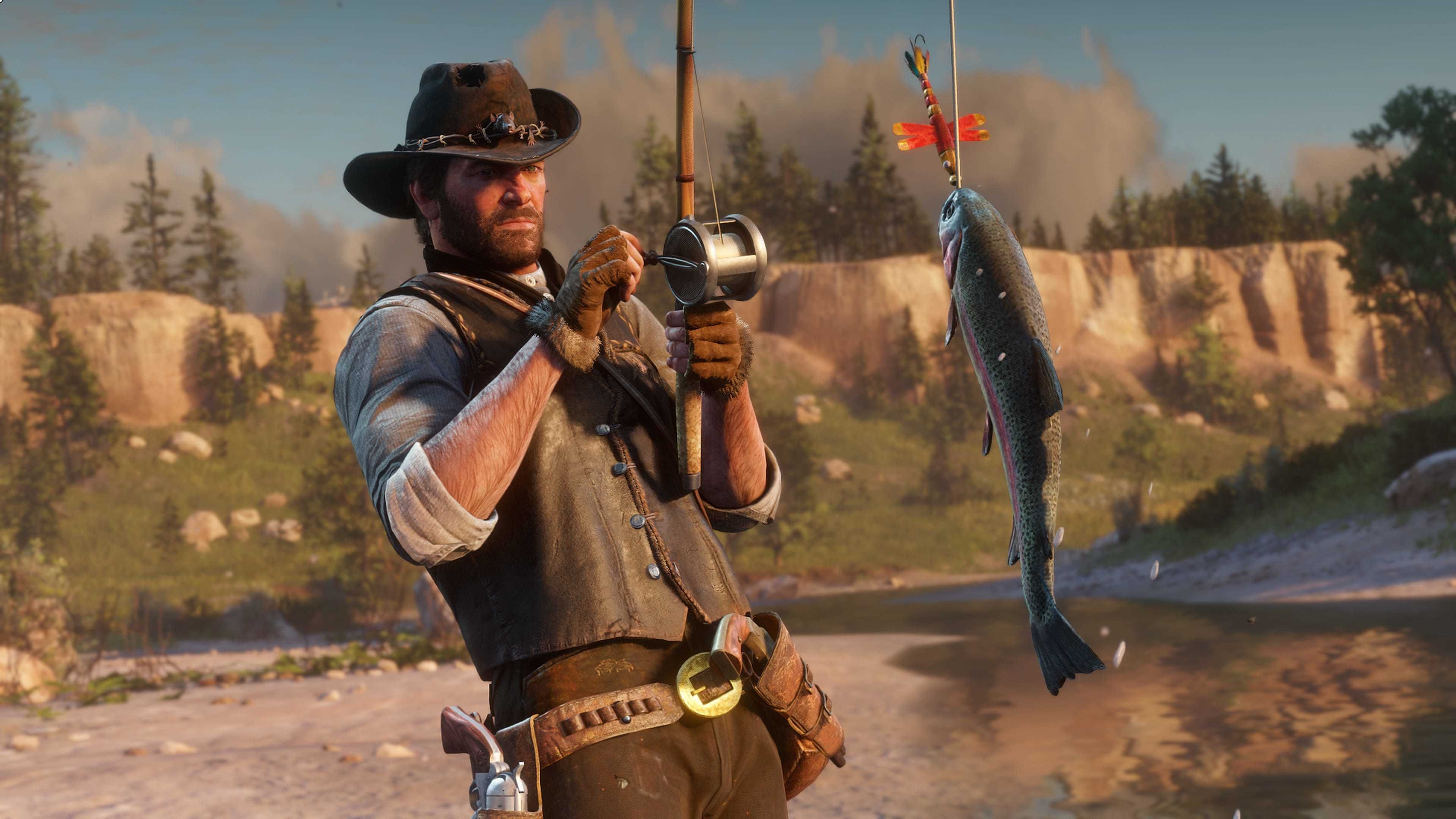 What Happens if You Try to Play Red Dead Redemption 2 with the Data