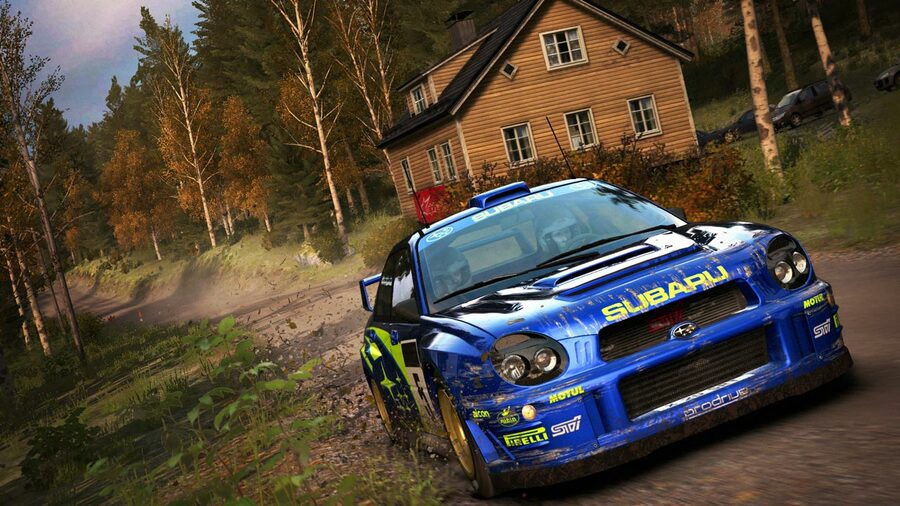 DiRT Rally PS4 PlayStation 4