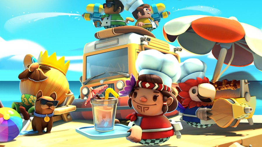 Overcooked 2: Surf 'n' Turf DLC PS4 PlayStation 4