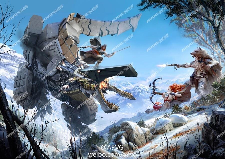Horizon PS4 Guerrilla Games 1
