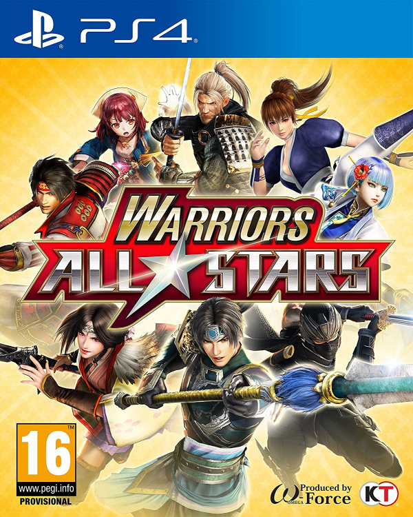 Warriors All-Stars (PS4 / PlayStation 4) News, Reviews