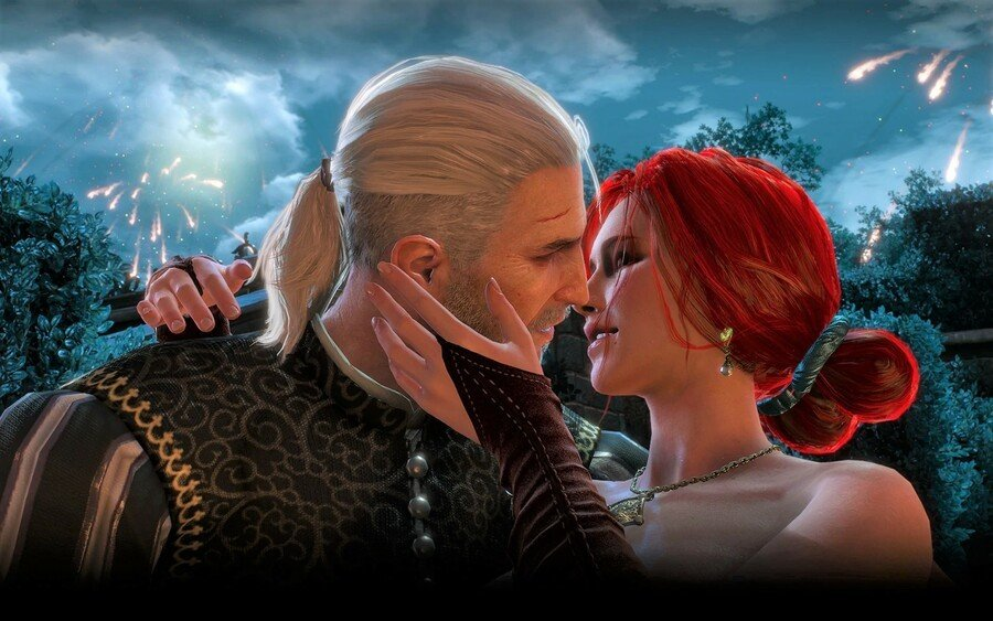 The Witcher 3 Romance Options Yennefer Triss