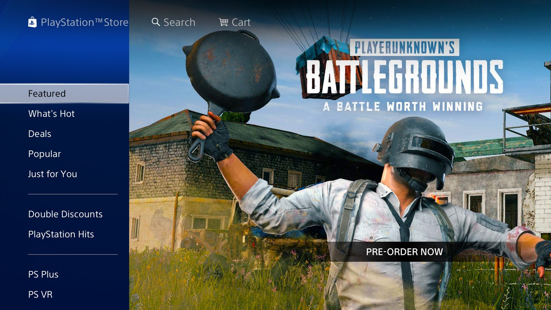 Pubg Ps4 Advertisement Spotted On Us Playstation Store Push Square