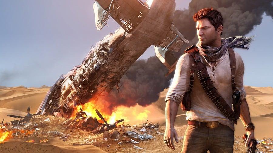 Uncharted 3 Drake's Deception Nathan Drake Collection PS4 PlayStation 4
