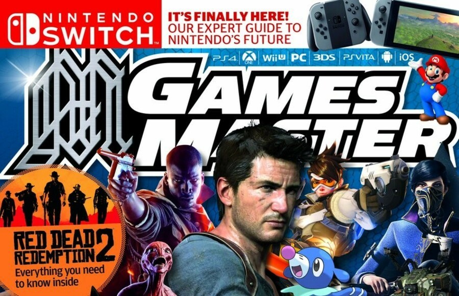 GamesMaster GamesTM PS4 PlayStation 4 1