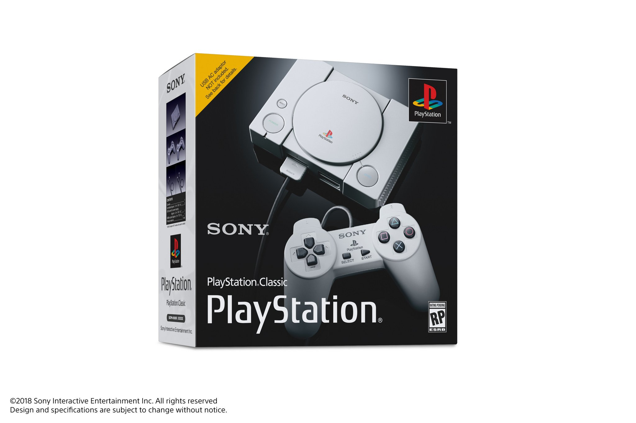 Sony announces PlayStation One Classic that comes pre-loaded with 20 games