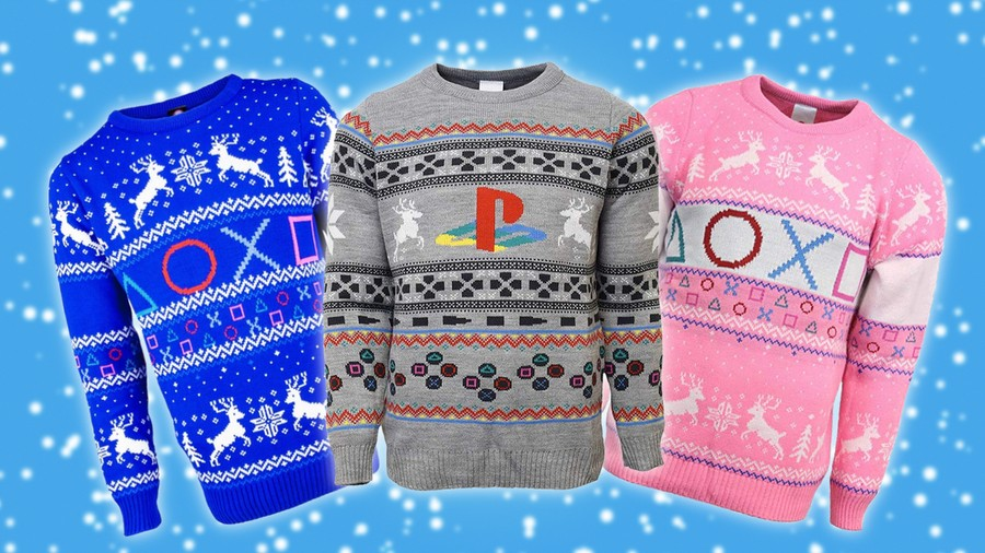 PlayStation Christmas Jumpers Sweaters Guide