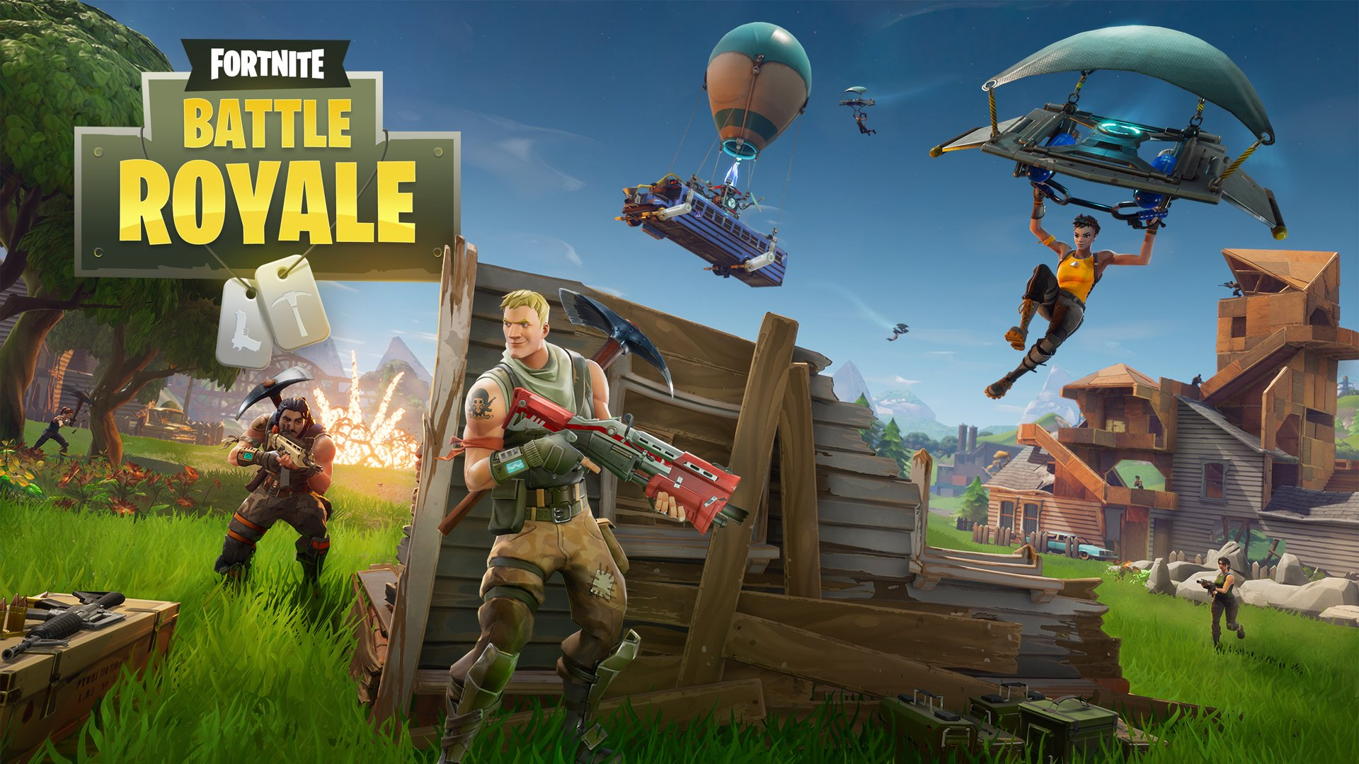 Fortnite Battle Royale Ps4 How To Play For Free Guide Push Square