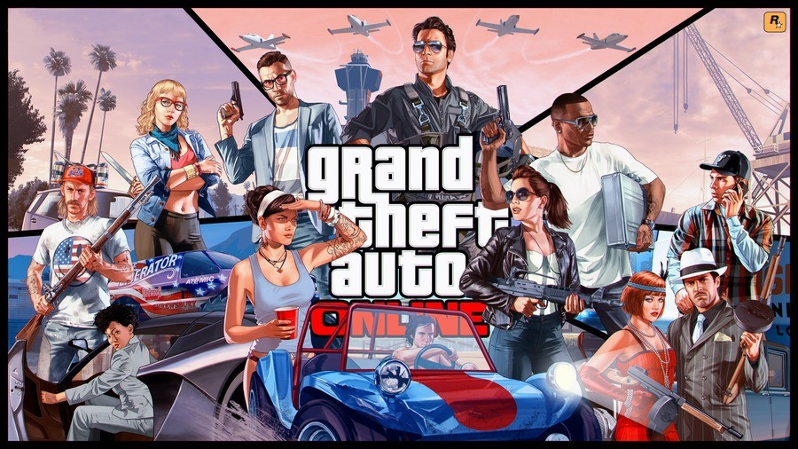 Grand Theft Auto Online PS4 PlayStation 4 1
