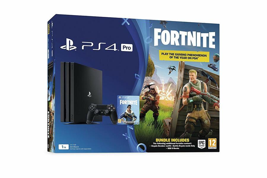 PS4 Pro Fortnite Bundle