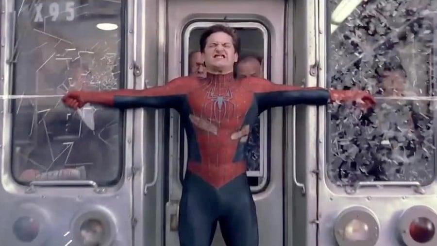 Spider-Man 2 Train Scene