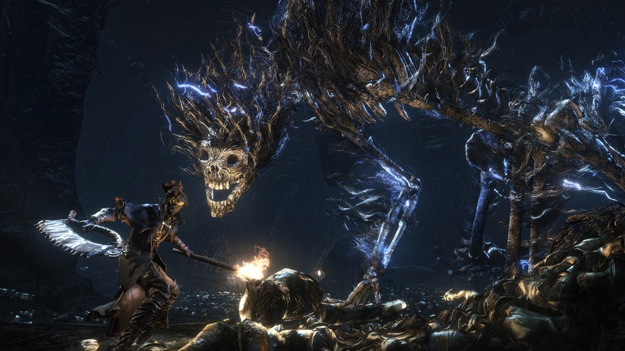 Bloodborne PS4 Darkbeast Paarl Boss Guide Tips