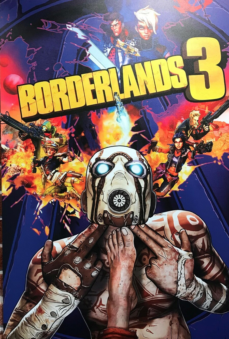 Borderlands 3 PS4 PlayStation 4 Box Art 1
