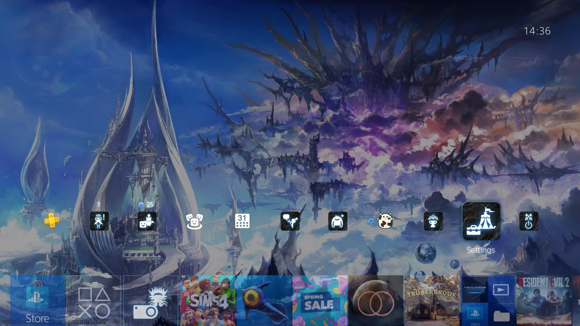 final fantasy xiv heavansward theme.original - PlayStation 4 - Guida: i migliori temi gratuiti da scaricare