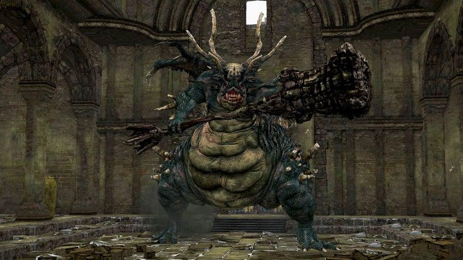 Dark Souls Remastered Asylum Demon Boss Walkthrough Guide