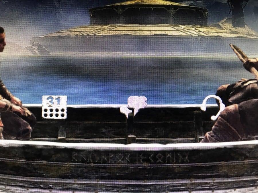 God of War PS4 PlayStation 4 Theme Hidden Message
