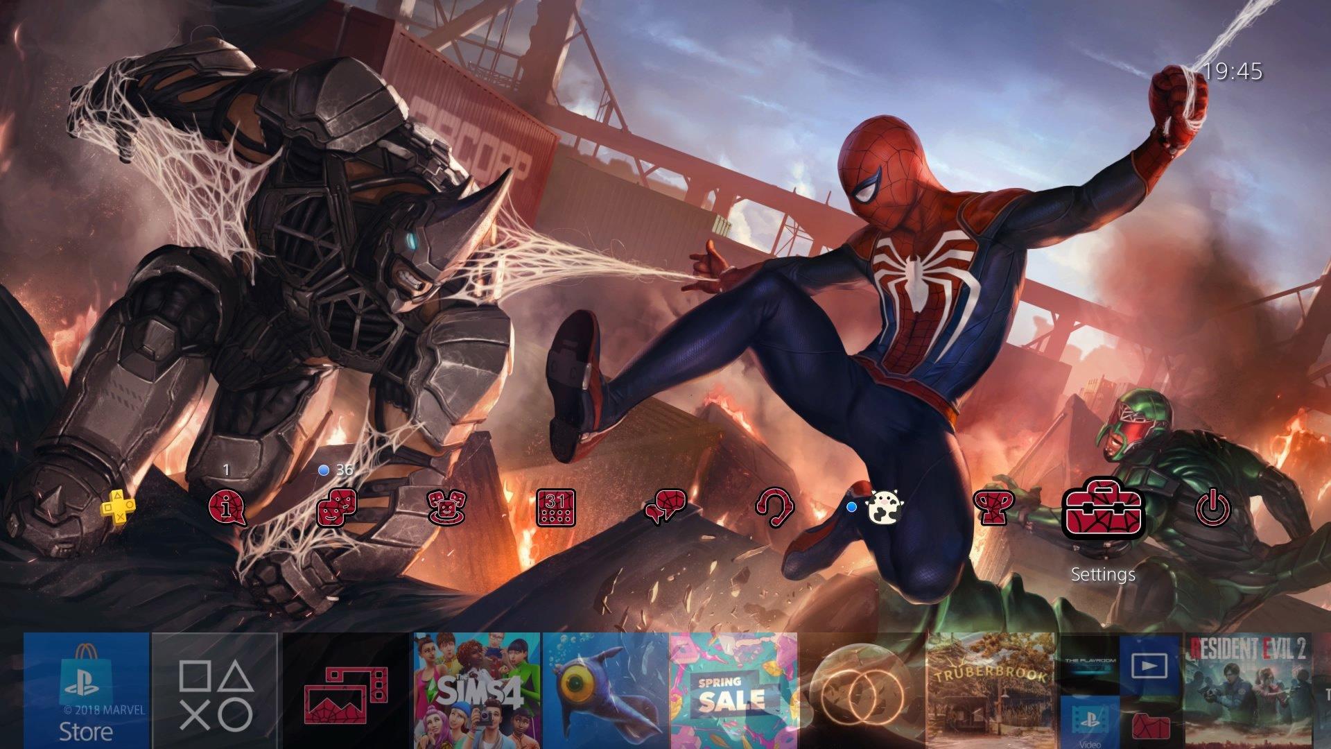 marvels spider man battle theme.original - PlayStation 4 - Guida: i migliori temi gratuiti da scaricare