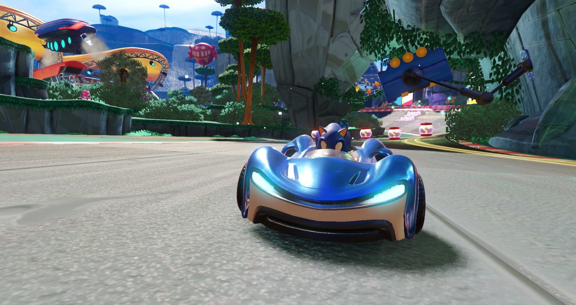 Hands On: Team Sonic Racing Takes a Tailspin on PS4 - Push Square