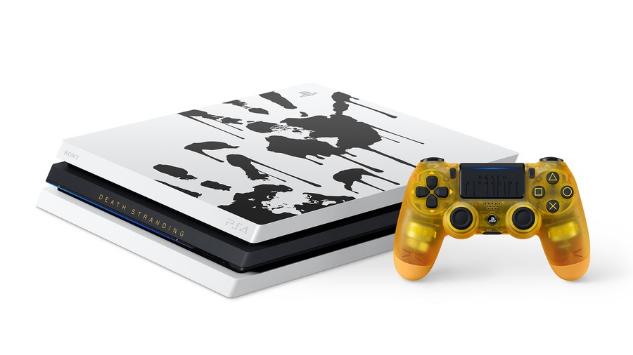 Death Stranding Limited Edition PS4 PlayStation 4 Pro Console Bundle