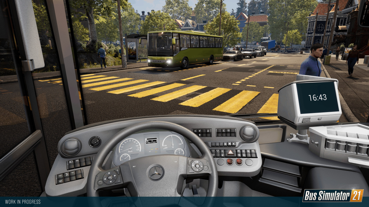 Bus Simulator 21 Busts Out the Mercedes-Benz, Parks 7th September on PS4