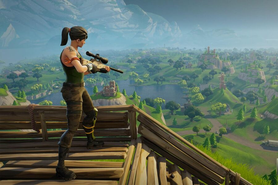 Fortnite Letters Locations - Where to Search the F-O-R-T-N-I-T-E Letters 1