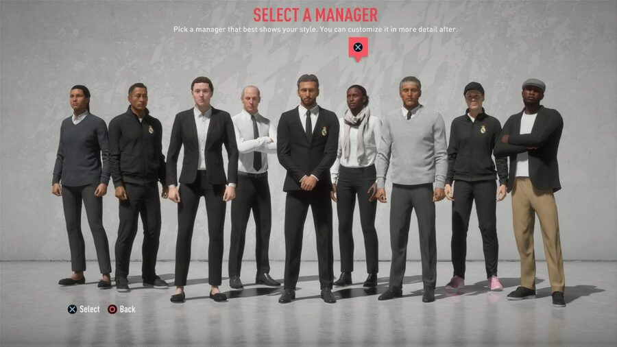 Fifa 20 Career Mode Manager