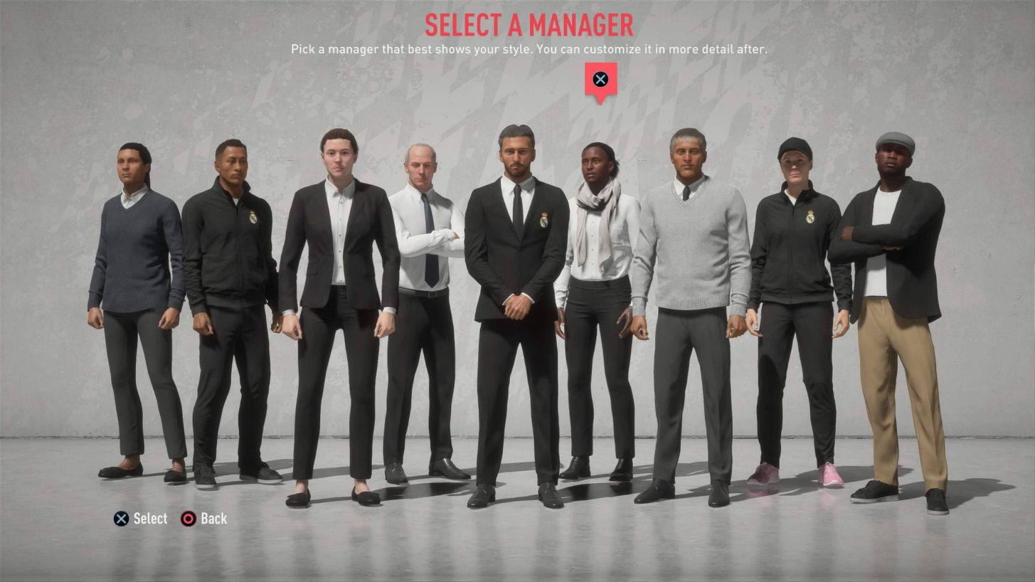 FIFA 20 Finally Adds Custom Manager Creator, and You Can Be