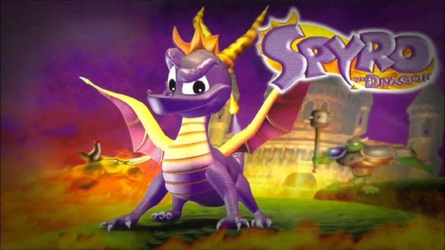 Spyro the Dragon PS4 PlayStation 4 PSone