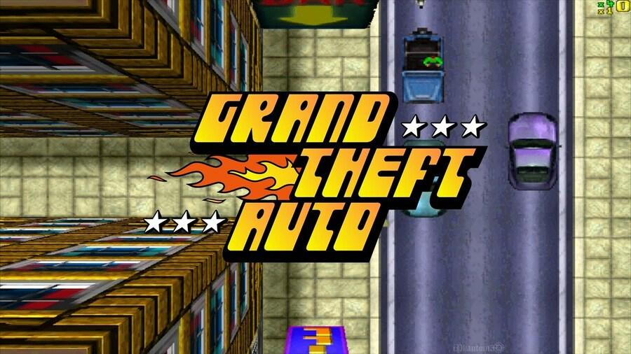 Grand Theft Auto PS1 PlayStation Sony 1