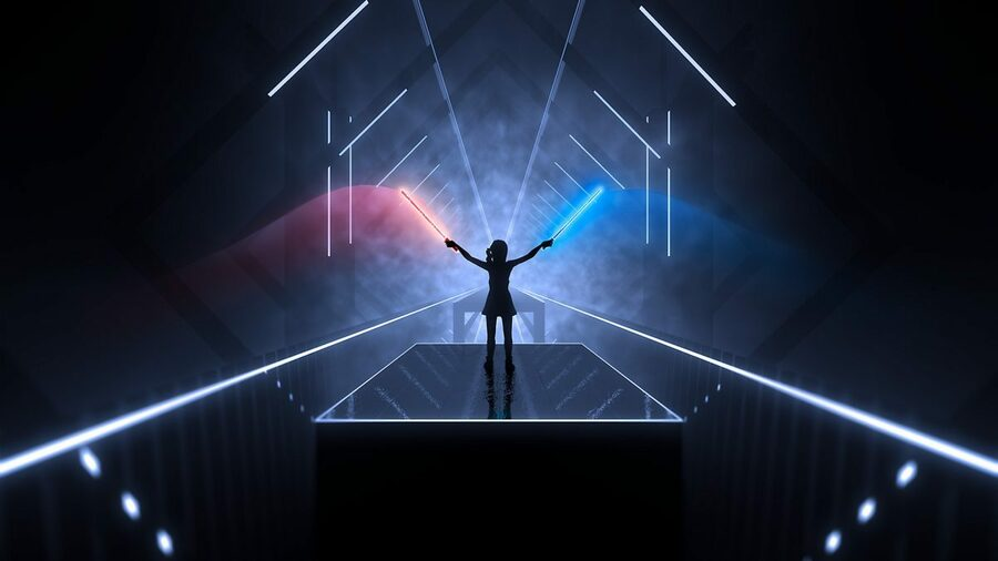 Beat Saber PS4 PlayStation 4 1